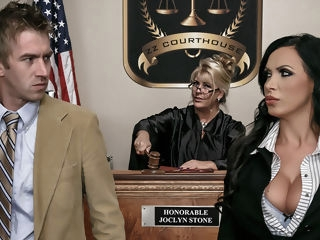 Nikki Benz & Danny D in ZZ Courthouse: Part Two - Brazzers brunette