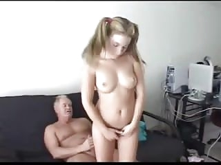daddy punishes not his stepdaughter old & young