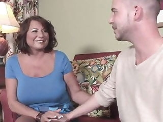 Sexy Mom with Toyboy milf