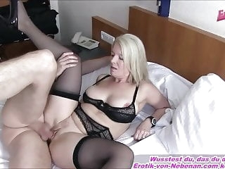 like MOTHER AND SON - German mature Housewife mom Creampie mature
