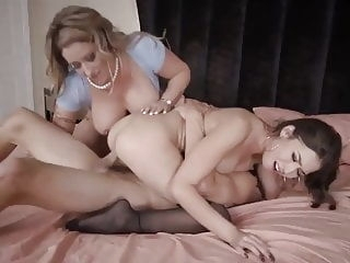 Mother Takes Control of Step Daughter and her Boyfriend hairy