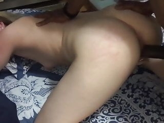 Pale skin wife fucked by BBC hardcore