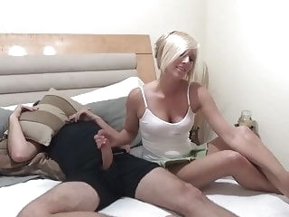 Helping NOT Her Bro N15 blonde