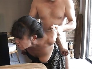 I Turned My Tiny Mexican Granny Maid Into an Anal Slave mature