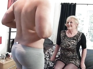 British old slut's cunt requires a new big cock every day top rated