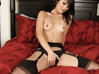 Christina Zhang Audition for Porn with Anal Creampie and Stockings anal creampie