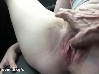 You Take Niki To See Some Sights And She Can't Stop Flashing - ATKGirlfriends hairy