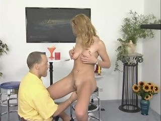 German blonde babe strips and plays - Julia Reaves blonde