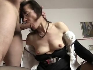 German Granny Sex straight